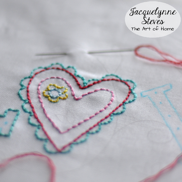 Embroidery- Jacquelynne Steves
