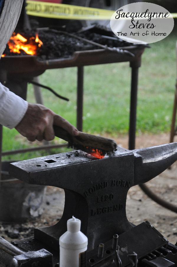 County Fair- blacksmith- JSteves