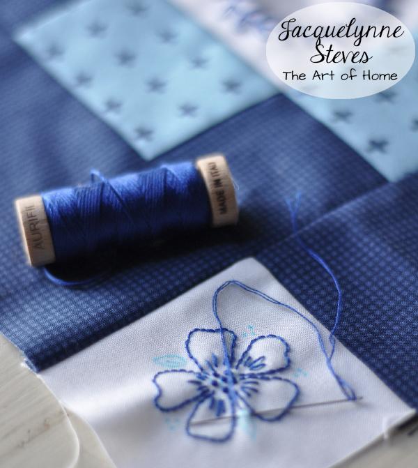 Aurifil Embroidery Thread- Jacquelynne Steves
