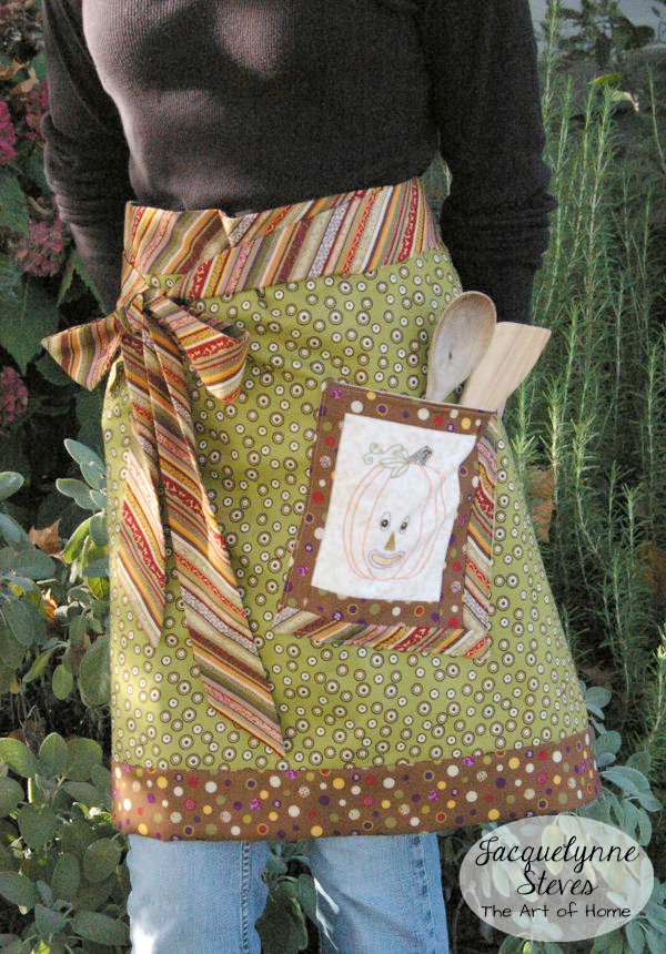 Cute Fall Apron Pattern  Jacquelynne Steves