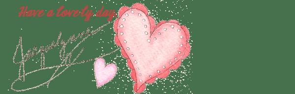 Lovely Day Heart Art- Jacquelynne Steves