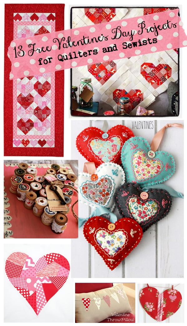 sewing valentine craft ideas 27 free s day patterns amp projects to sew and 5397