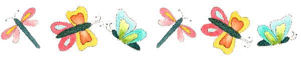 Butterfly Border- Jacquelynne Steves
