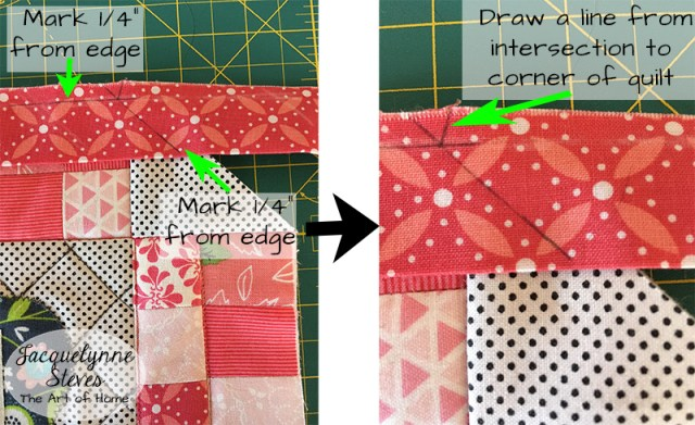 Binding Odd Angles Tutorial - Jacquelynne Steves : quilt corner binding - Adamdwight.com