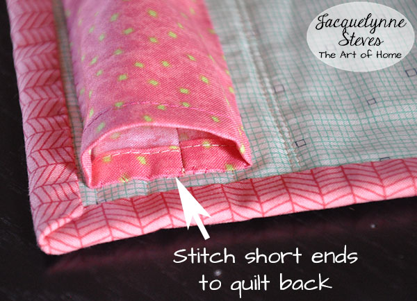 How to Make a Hanging Sleeve for a Quilt - Jacquelynne Steves : how to make a quilt sleeve - Adamdwight.com