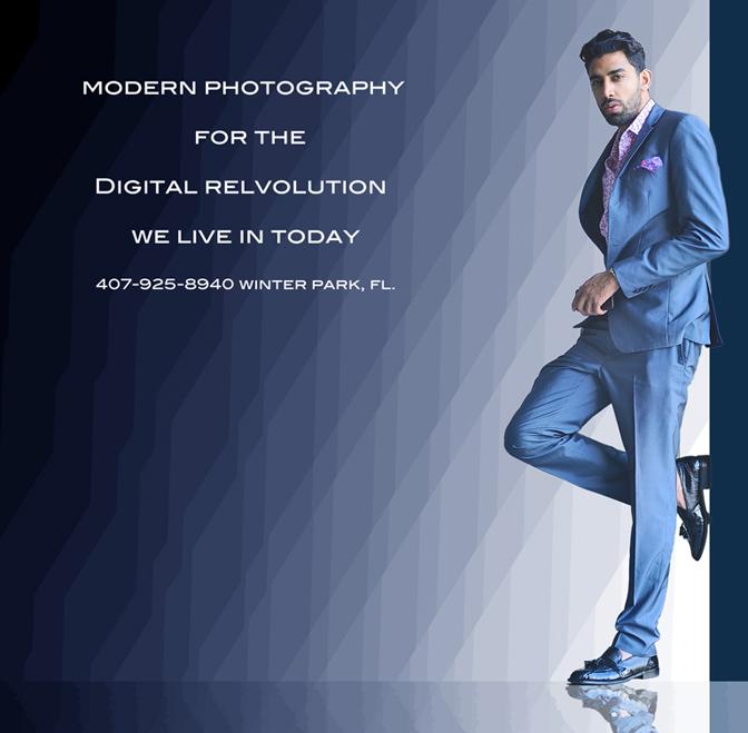 fashion & art, male model and blue glass field