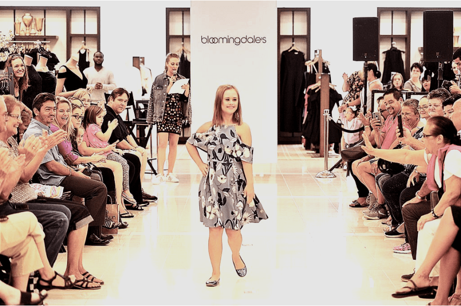 Bloomingdales Mall at Millenia, downs syndrome foundation of orlando fl. fashion show