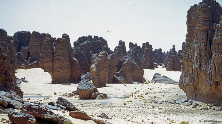 Le Tassili près de Ghat en Libye