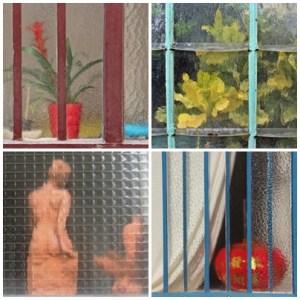 collections d'objets mille fois vus dans la rue. Transparences