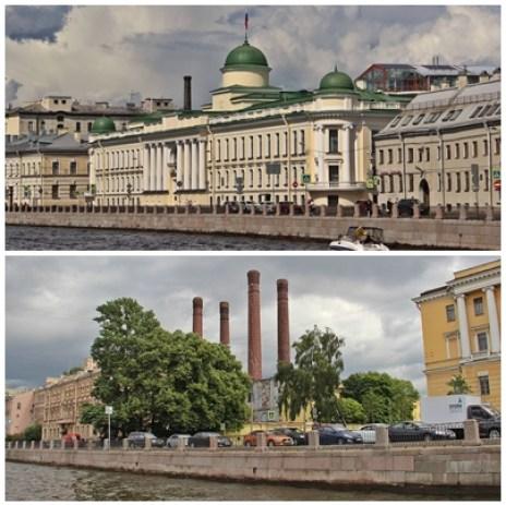 St Petersbourg, palais et usines