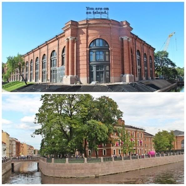 """Saint-Pétersbourg ville de pouvoir.  """"New Holland'"""