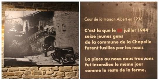 Des immigrés dans la Résistance. La Chapelle en Vercors. Hommage aux 16 jeunes hommes fusillés par l'armée allemande