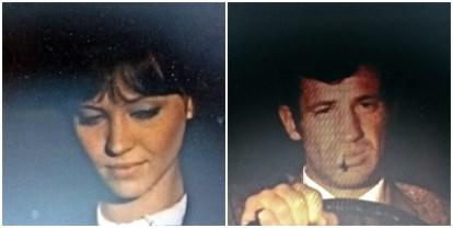 « Pierrot le Fou », film de Jean-Luc Godard (1965). Anna et Jean-Paul