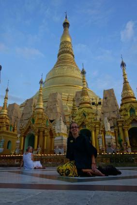 Shwedagon Paya and Caro