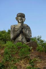 Around the giant buddha, another buddha