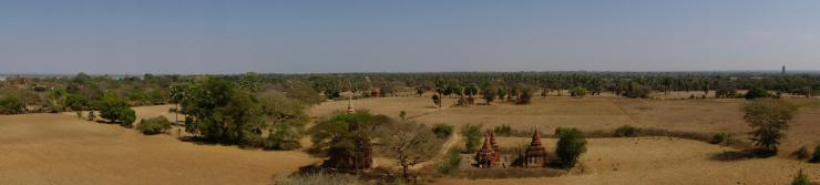 View from Budeli temple