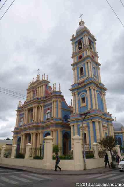Salta blue church