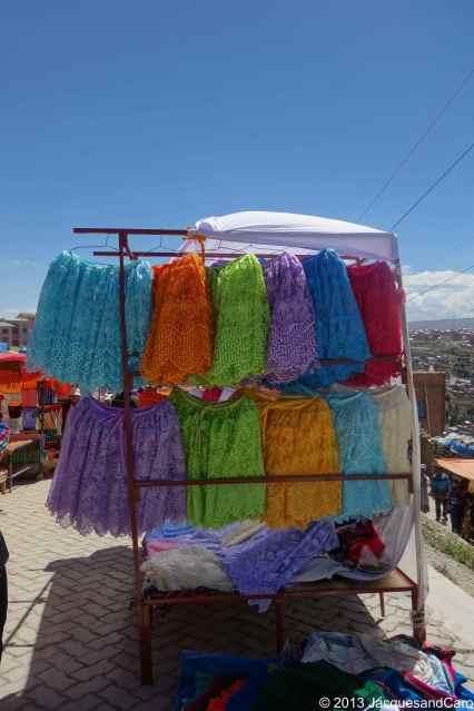 Local colourful dresses
