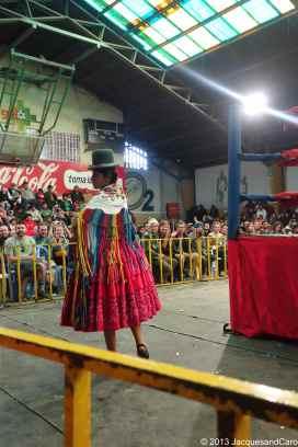 Cholitas called Alicia Flores