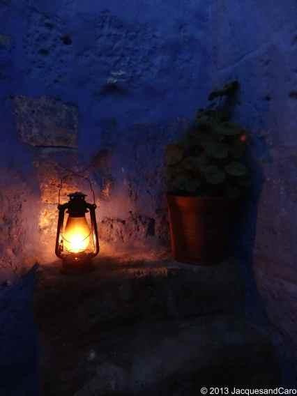 Light and geranium