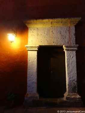 Door of Santa Catalina couvent