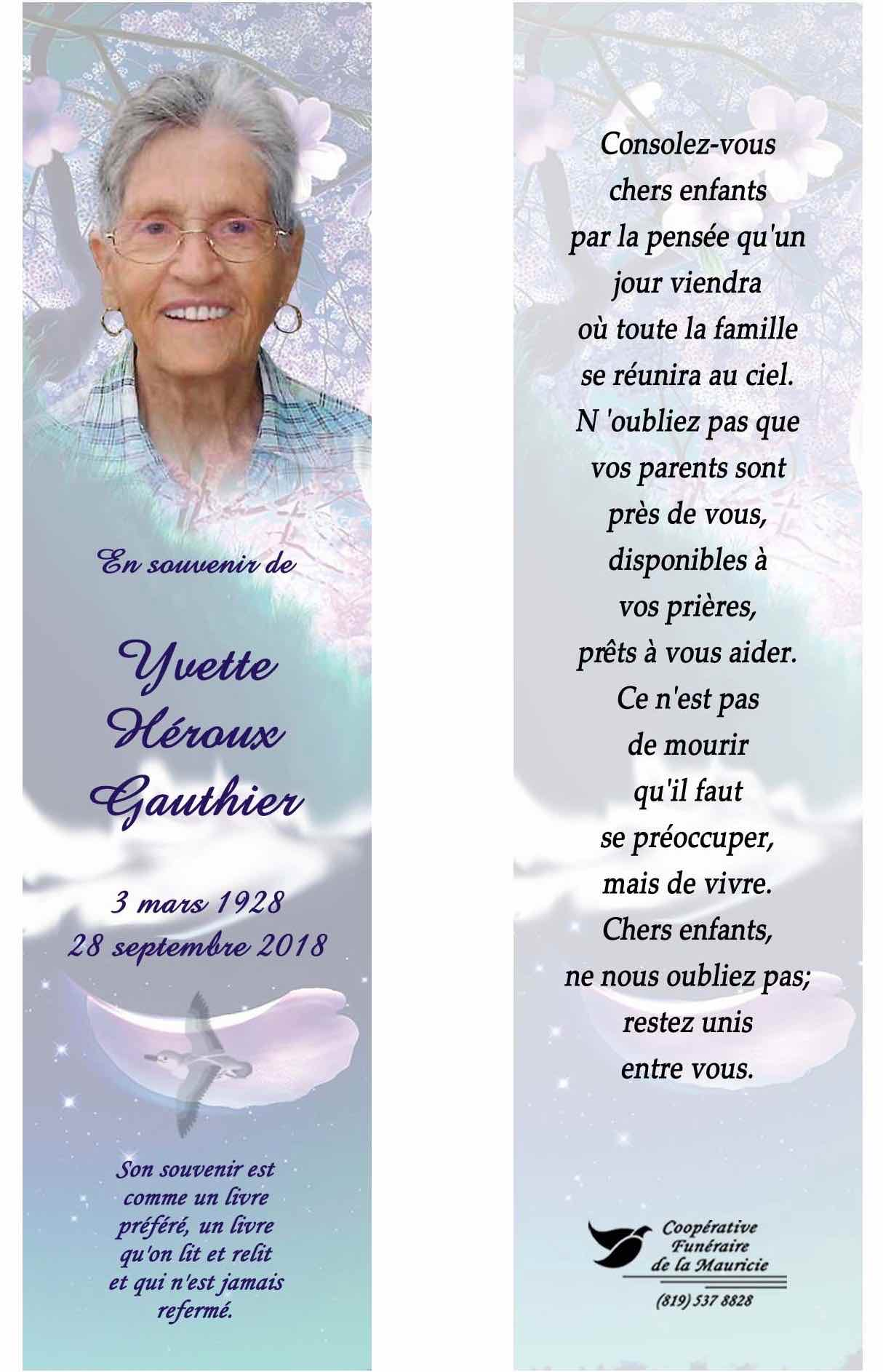 Poeme Pour Le Deces D Une Grand Mere : poeme, deces, grand, Mère, Blogue, Jacques, Gauthier