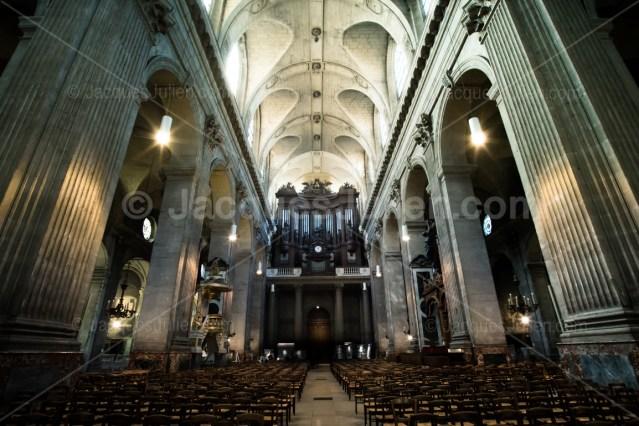Eglise Saint-Sulpice vue architecture