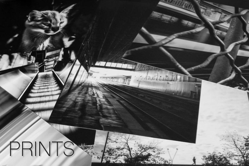 black and white photograph prints