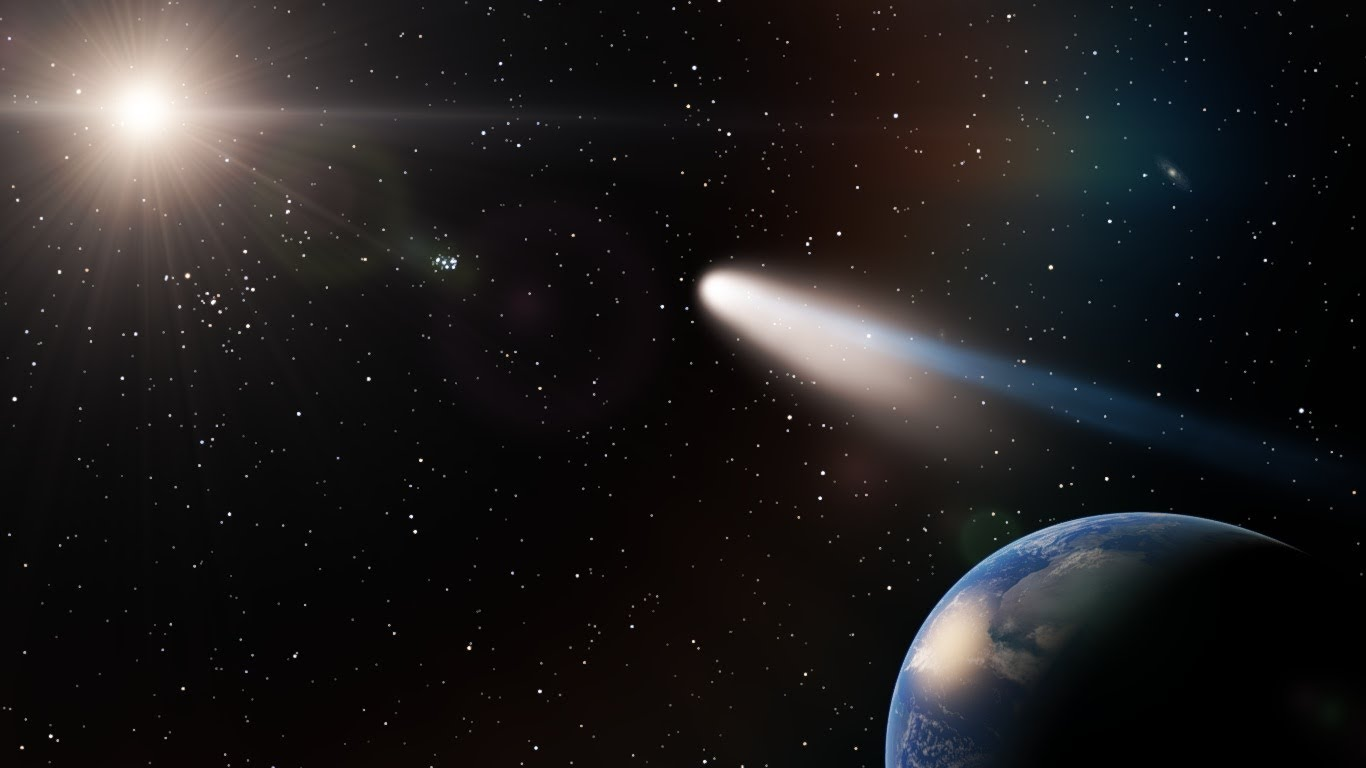 Halley S The Spectacular Average Comet The Limits Of