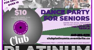 Poster Layout – Club Platinum