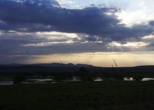 sunset 071107