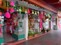 Many small shops sell handmade gifts and trinkets