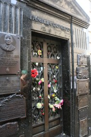 Resting place of Evita