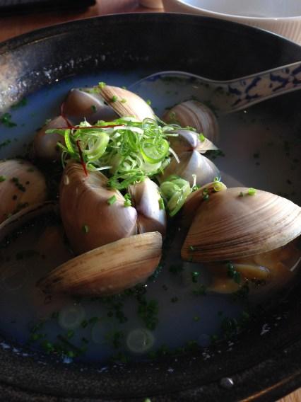 Sake Steamed Hamaguri Clams