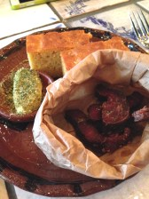 Biltong & maize bread with smoked curd butter - Duncan