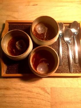 Onion and tapioca soup