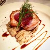 Tuna steak with fennel