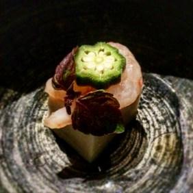 Sweet Shrimp with Walnut Tofu