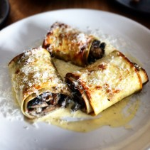 Mushroom and three cheese Cannelloni