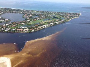 St Lucie Inlet area near Sailfish Point, 2013, JTL)