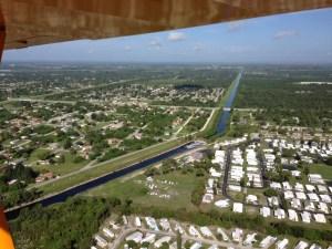 C-25 canal in Ft Pierce. (Photo Ed Lippisch 7-10-14.)