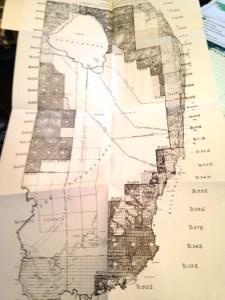 Drainage map of Florida 1911. Florida Classics Library.