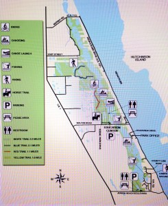The Savannas today are located  between Jensen Beach Boulevard to Midway Road.