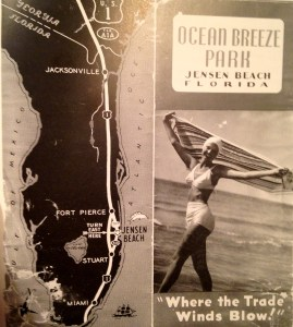 Early advertising for Ocean Breeze Park.