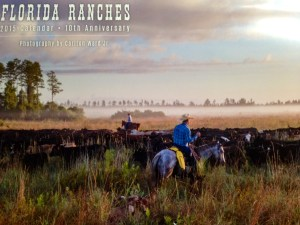 Florida Ranches Calendar cover, 2015, photo Carlton Ward.