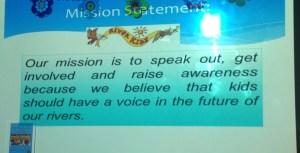 Mission Statement River Kidz