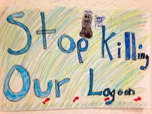 Stop Killing Our Lagoon art work.
