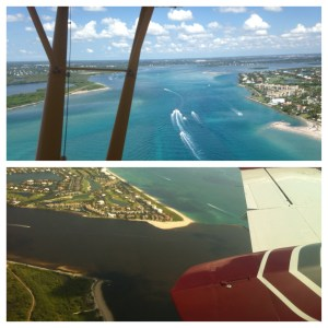 Contrast June 21, 2015 and June 28, 2013. St Lucie Inlet, Martin County, Fl. (Photos JTL and EL)