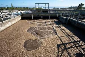 Internet photo, public. Sewage treatment plant.
