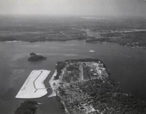 Isle Addition March 1966. (Photo Arthur Ruhnke via Sandra Henderson Thurlow's book Sewall's Point.)